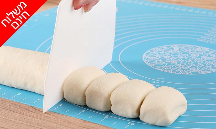 9 משטח סיליקון להכנת בצק - משלוח חינם