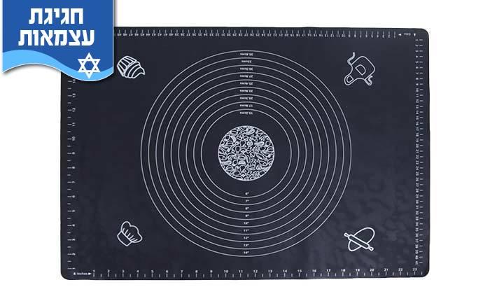 4 משטח סיליקון להכנת בצק  - משלוח חינם