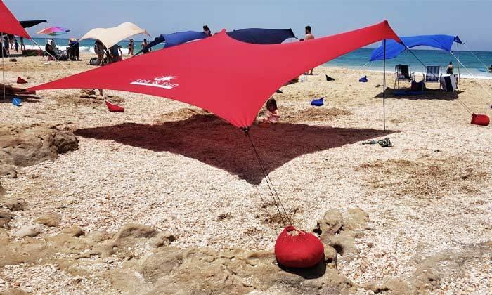 5 צילייה לים עם זוג מגבות Sea & Sun