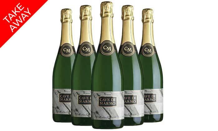 4 מארז קאווה כשרה - 5 בקבוקים מ'שר המשקאות'