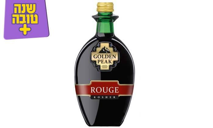 4 מארז 6 בקבוקי יין גולדן פיק כשר במשלוח חינם מרשת שר המשקאות