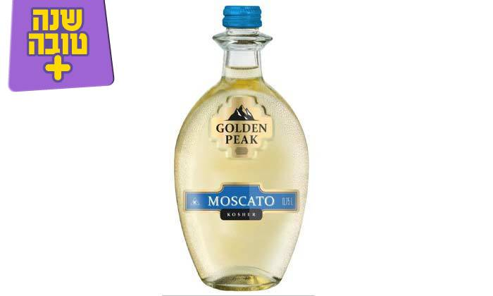 6 מארז 6 בקבוקי יין גולדן פיק כשר במשלוח חינם מרשת שר המשקאות