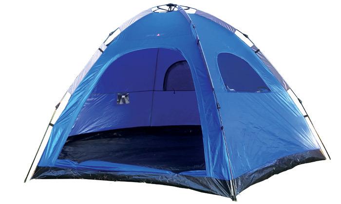 2 אוהל פתיחה מהירה לשמונה אנשים