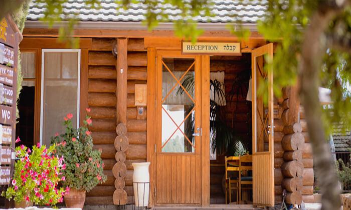 """8 מלון כפרי - יד השמונה, חופשה באווירה סקנדינבית פינית כולל סופ""""ש"""