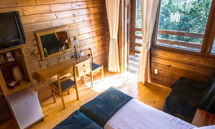 """10 מלון כפרי - יד השמונה, חופשה באווירה סקנדינבית פינית כולל סופ""""ש"""
