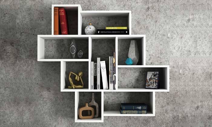 4 ספרייה בעיצוב א-סימטרי, דגם פרלה
