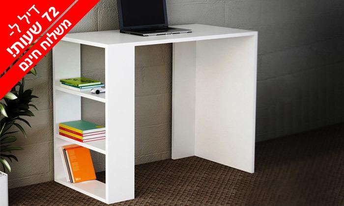 2 דיל לזמן מוגבל - שולחן כתיבה דגם יותם - משלוח חינם