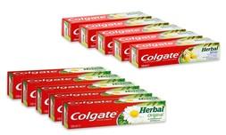 10 משחות שיניים Colgate Herbal