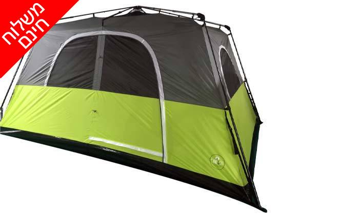 4 אוהל פתיחה מהירה ל-8 אנשים - משלוח חינם