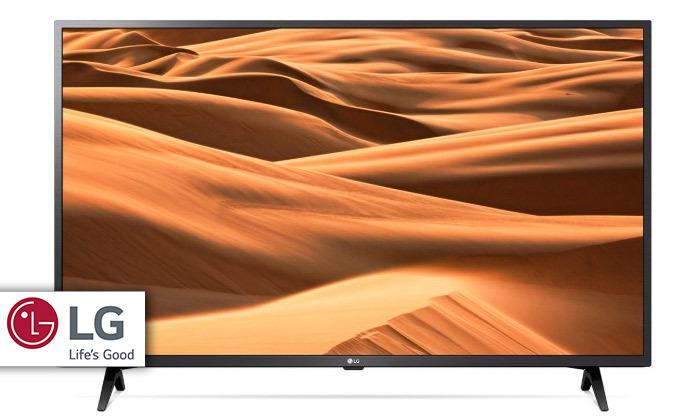 טלוויזיה חכמה 4K LG, מסך 55 אינץ'