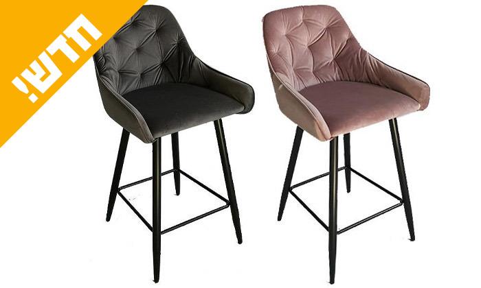 2 כיסא בר דגם פיזה