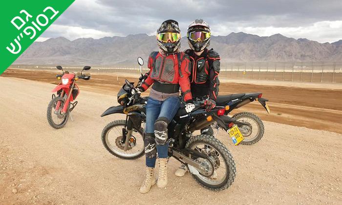 6 טיולי אופנועים וטרקטורונים באילת עם מוטורנט