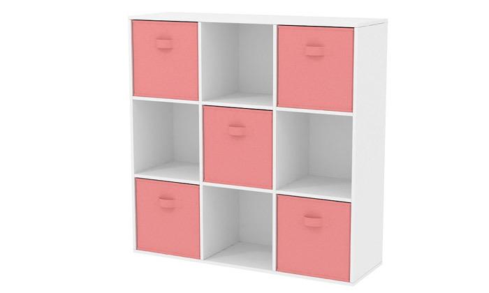4 כוורת 9 תאים עם 5 קופסאות אחסון