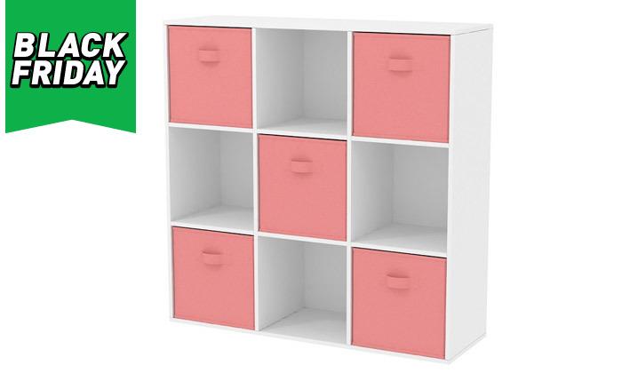 5 כוורת 9 תאים עם 5 קופסאות אחסון