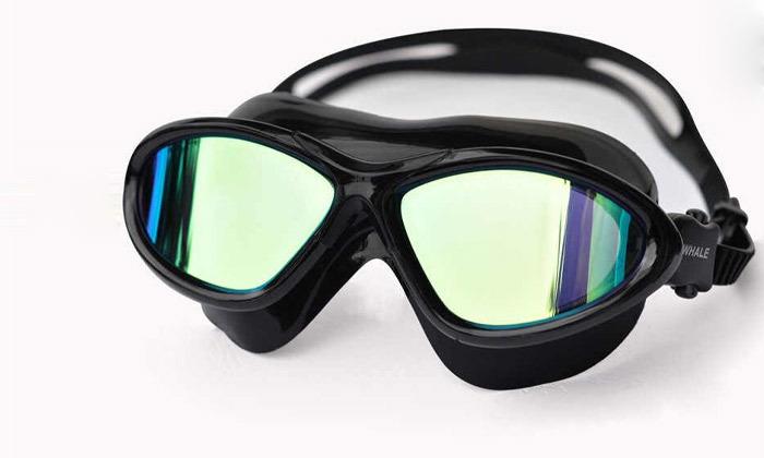 5 מארז משקפות שחייה לנוער ולמבוגרים כולל אטמי אוזניים מתנה