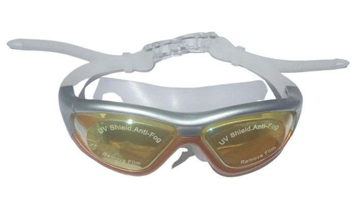 4 מארז משקפות שחייה לנוער ולמבוגרים כולל אטמי אוזניים מתנה