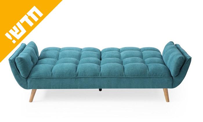 4 ספה תלת מושבית נפתחת למיטה דגם 027