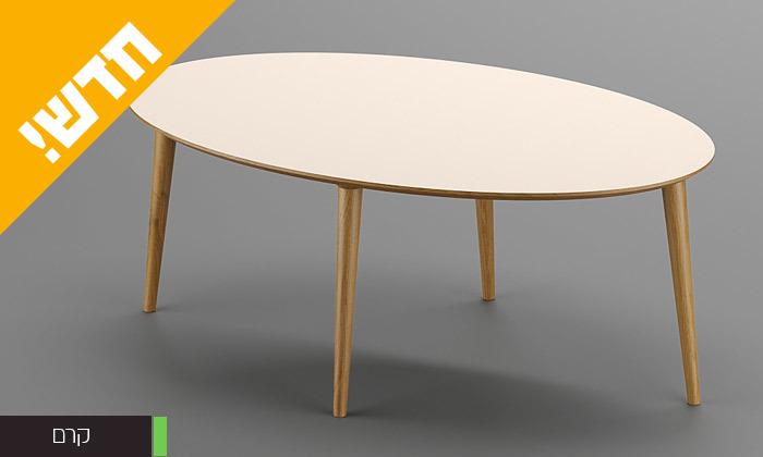 3 שולחן סלון אובלי, דגם רויאל