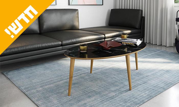 6 שולחן סלון אובלי, דגם רויאל