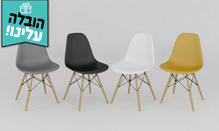 3 פינת אוכל עם 4 כיסאות במגוון גדלים וצבעים - משלוח חינם