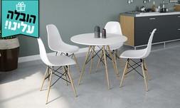 שולחן אוכל עם 4 כיסאות סורנטו