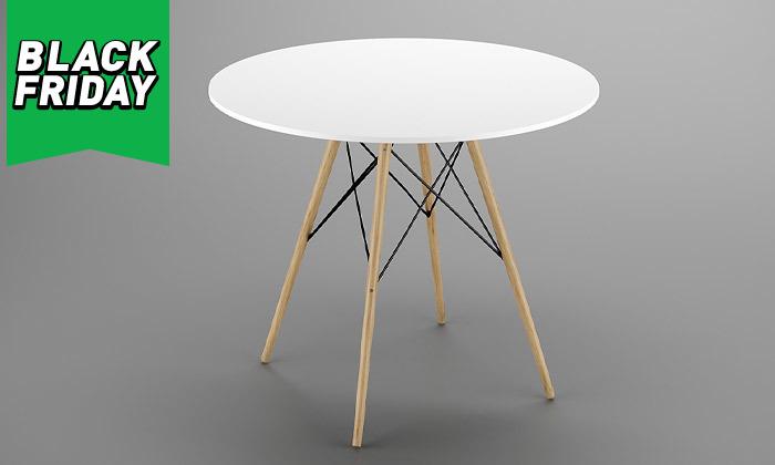 7 פינת אוכל עם 4 כיסאות, דגם סורנטו