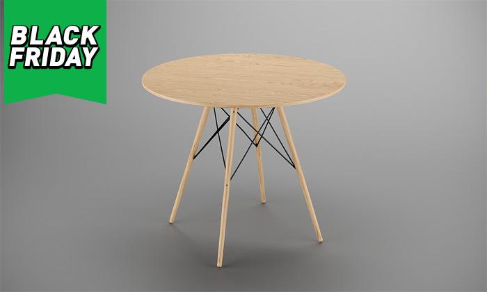8 פינת אוכל עם 4 כיסאות, דגם סורנטו