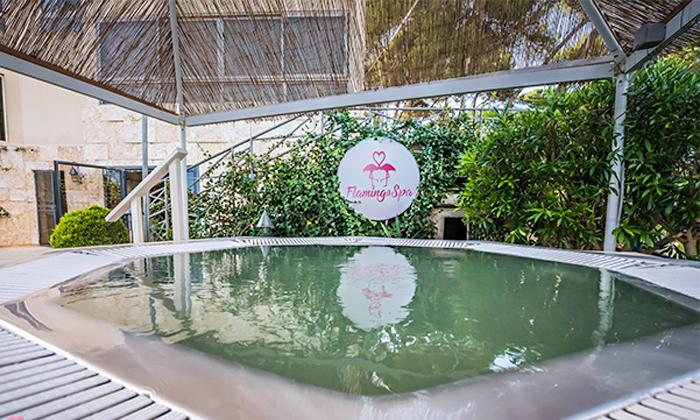 8 חבילות ספא מפנקות עם עיסוי בפלמינגו ספא Flamingo Spa, חיפה