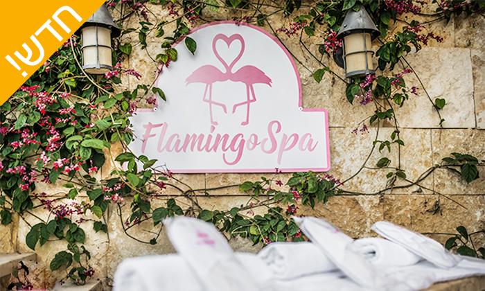 5 חבילות עיסוי בפלמינגו ספא Flamingo Spa, חיפה