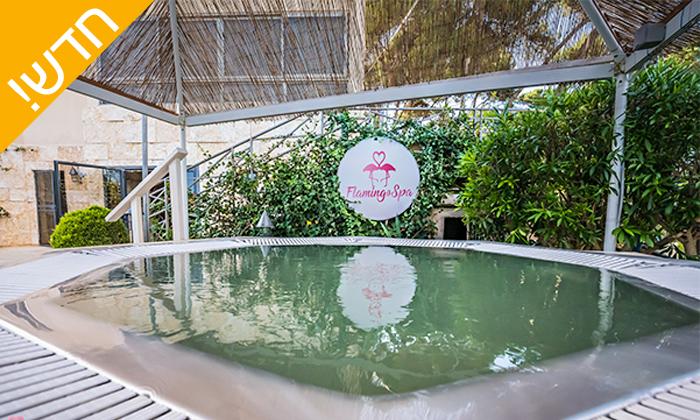 8 חבילות עיסוי בפלמינגו ספא Flamingo Spa, חיפה