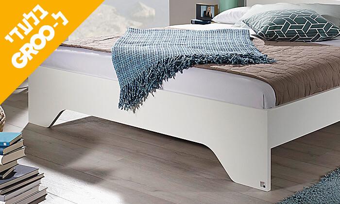 5 חדר שינה זוגי הכולל: מיטה זוגית, 2 שידות וארון הזזה