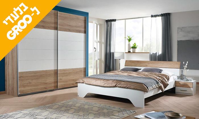 13 חדר שינה זוגי הכולל: מיטה זוגית, 2 שידות וארון הזזה
