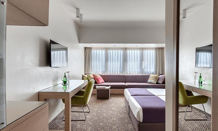 11 חופשה משפחתית במלון רמת רחל - 2 ילדים חינם