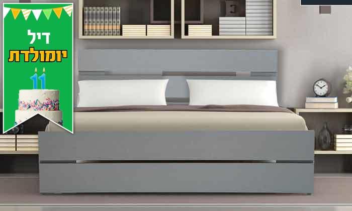 4 אולימפיה Olympia: מיטה דגם 7040 עם מזרן