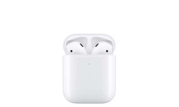 3 אוזניות אלחוטיות Apple AirPods 2