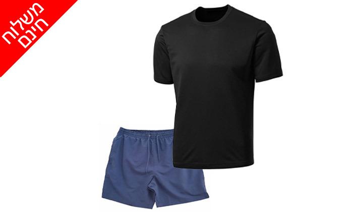 5 סט בגדי ספורט מנדפים זיעה - משלוח חינם