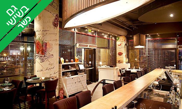 6 מסעדת פאפאגאיו Papagaio הכשרה בהרצליה - פלטת בשרים זוגית