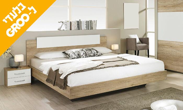 5 חדר שינה עם מזרן קפיצים מבודדים ויסקו/לטקס