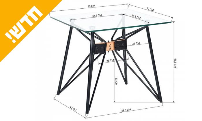 4 שולחן סלון Homax, דגםאינוויקטוס