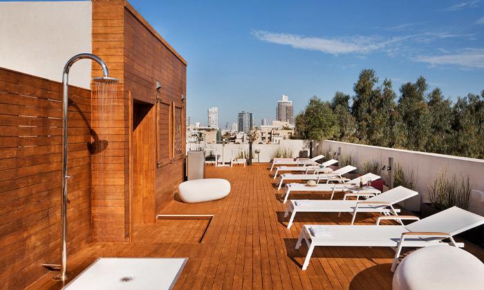 4 חופשה זוגית עם עיסוי במלון הבוטיק שנקין תל אביב, כולל חגים