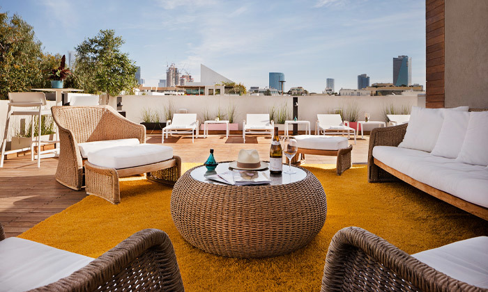 6 חופשה זוגית עם עיסוי במלון הבוטיק שנקין תל אביב, כולל חגים