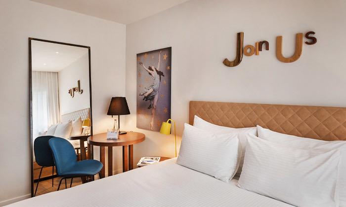 5 חופשה זוגית עם עיסוי במלון הבוטיק שנקין תל אביב, כולל חגים