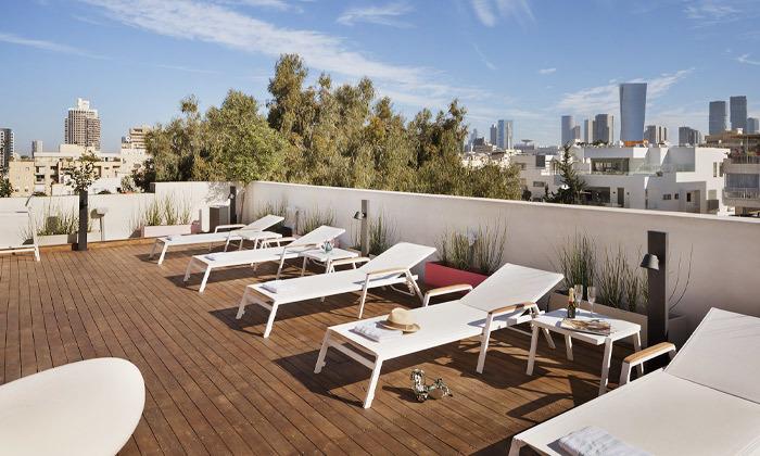 11 חופשה זוגית עם עיסוי במלון הבוטיק שנקין תל אביב, כולל חגים
