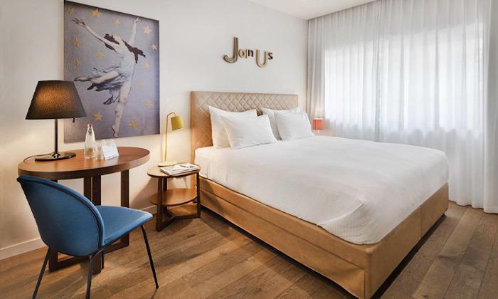 13 חופשה זוגית עם עיסוי במלון הבוטיק שנקין תל אביב, כולל חגים