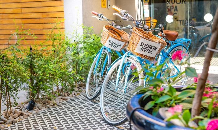 14 חופשה זוגית עם עיסוי במלון הבוטיק שנקין תל אביב, כולל חגים
