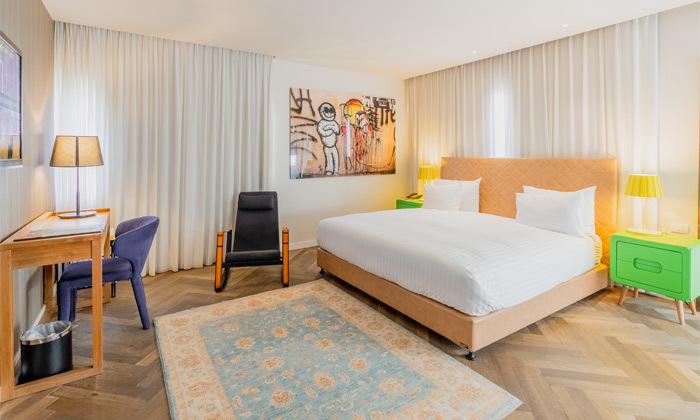 2 חופשה זוגית עם עיסוי במלון הבוטיק שנקין תל אביב