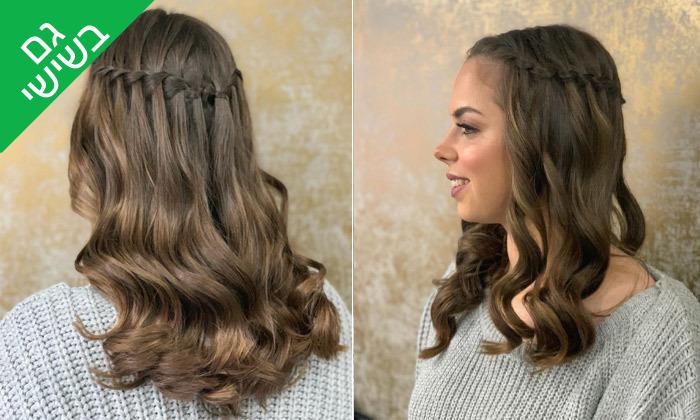 3 טיפולי שיער במספרה של דניאל גפן, פתח תקווה