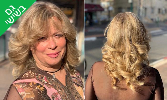 5 טיפולי שיער במספרה של דניאל גפן, פתח תקווה