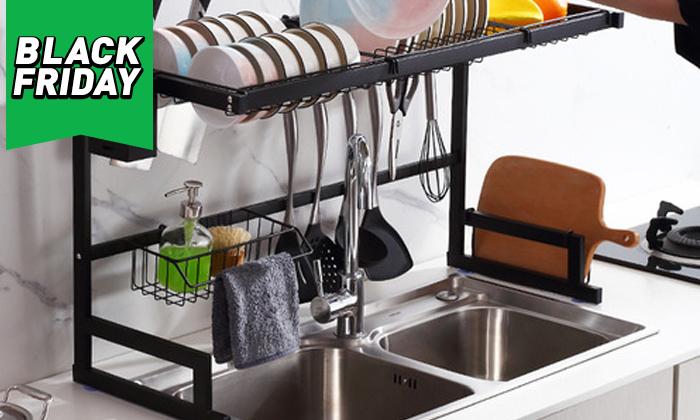2 מתקן לייבוש כלים מעל הכיור