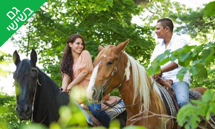 2 טיול רכיבה על סוסים כולל פיקניק רומנטי לזוג - עין ורד